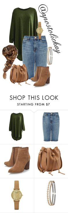 """""""Warm Weather"""" by apostolickay ❤ liked on Polyvore featuring Frame Denim, Nine West, Emporio Armani and Charlotte Russe"""