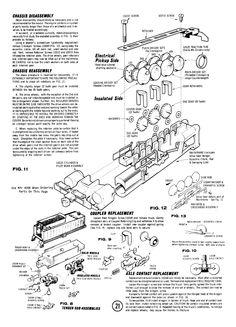 49 Best Atlas/Rivarossi N Steam Engine Manuals images in