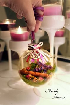 Home Blessing Witch Ball for Wiccan Living, Paganism, Witchcraft, Protection, Talisman
