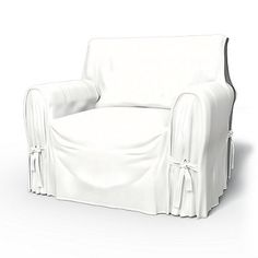 Multi-fit arm chair cover.  http://www.bemz.com/en-us/product-page/product/armchair-covers/id/arm2/multi-fit/t150/absolute-white/