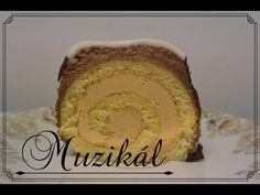 """Recept: Karamelová roláda """"Muzikál"""" - YouTube Cake, Ethnic Recipes, Youtube, Food, Kuchen, Essen, Meals, Torte, Cookies"""