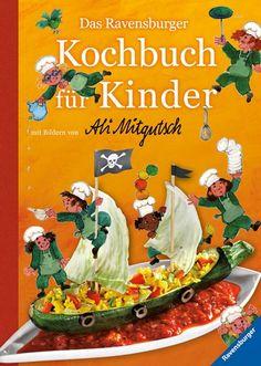 Das Ravensburger Kochbuch, £10.45 Book Activities, Activity Books, Ravensburger, Britain, German, Children, Easy Meals, Rezepte, Fire