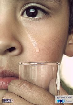 save water - tear by rodrigozenteno.deviantart.com