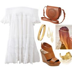 Untitled #151 by adda-adde on Polyvore featuring Anjuna, Madden Girl, Forever 21, LeiVanKash, Kate Spade and Dogeared