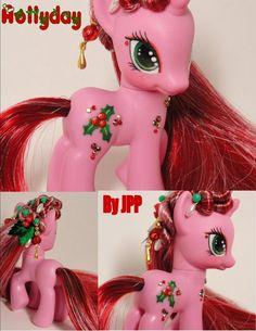 Gorgeous custom Christmas pony!