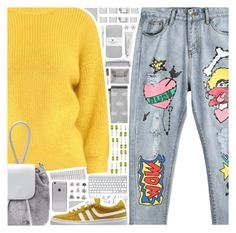 Designer Clothes, Shoes & Bags for Women Mustard Yellow Sweater, Van Cleef Arpels, Williams Sonoma, American Eagle Outfitters, Mango, Swarovski, Sweatpants, Skinny Jeans, Shoe Bag