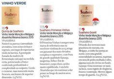 Revista de Vinhos revela três novidades Soalheiro na sua última edição ...  Three Soalheiro news revealed in last edition of a reference Portuguese Wine Magazine. Good news by Luis Lopes!