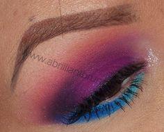 Bold, Colorful Eyes   Sugarpill Heart Breaker Palette ~ A Brilliant Brunette