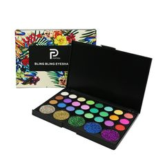 Available on Memplaza Marketplace at only $8.00 or with Membidder starting off at $1.00 during live auctions! Worldwide Shipping. Matte Eyeshadow Palette, Eye Palette, Glitter Eyeshadow, Eyeshadow Makeup, Makeup Cosmetics, Diamond Eyes, Diamond Glitter, Kajal Eyeliner, Party Eyes