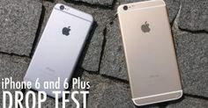 iPhone 6 and 6 Plus Drop Test