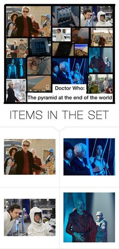 """Doctor Who: Pyramid at the end of the world"" by jadalious ❤ liked on Polyvore featuring art"