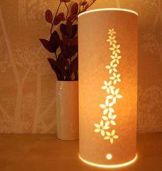 Beautiful paper lamps by Hannah Nunn