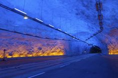 """HowStuffWorks """"10 Strange Structural Engineering Marvels"""" Leardal Tunnel Norway"""
