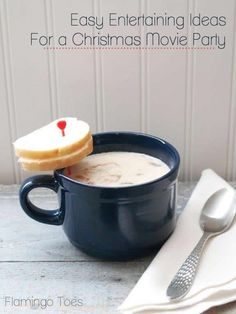 Easy Entertaining Ideas for a Christmas movie party
