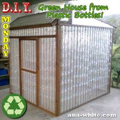 Building a chicken coop does not have to be tricky nor does it have to set you back a ton of scratch. Plastic Bottle Greenhouse, Diy Plastic Bottle, Diy Bottle, Plastic Plastic, Bottle Caps, Building A Chicken Coop, Building A House, Building Plans, Outdoor Projects