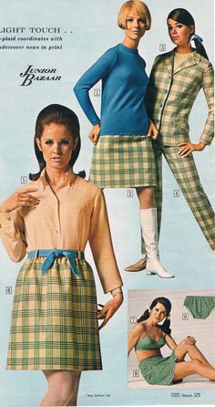 Sears catalog 60s.  Kathy McKay, Cay Sanderson and Colleen Corby.