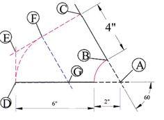 Elbow figure 6 Sheet Metal Drawing, Sheet Metal Fabrication, Metal News, 60 Degrees, Change, Fig, Ficus, Figs
