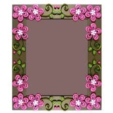 Image result for quilling photo frames