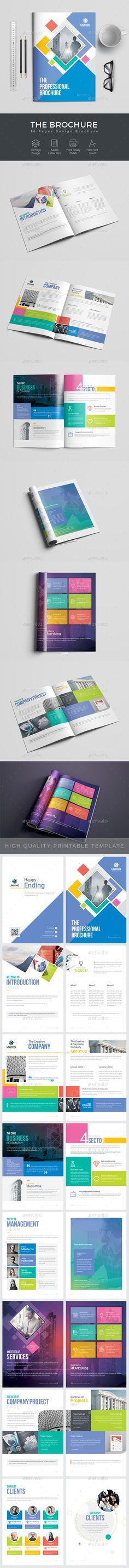 employee handbook manual design template indesign indd download