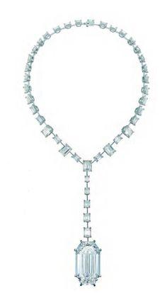 GABRIELLE'S AMAZING FANTASY CLOSET   Chopard Diamond Necklace.  
