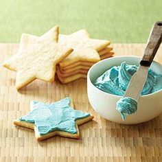 Keep this recipe for our favorite cookie frosting handy! It's simple but oh-so-delicious. Leave the frosting white or tint it with food coloring if desired.