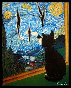 Homage to Van Gogh, by Ana Aguirre