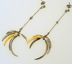 Reflections Earrings Iosif with ruthenium & gold plated Silver 925. Earrings Code:3381.ER.1821.GO.001
