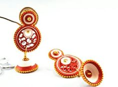 Quilling Traditional Earrings