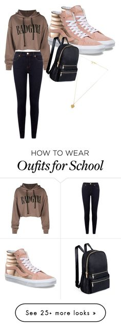 """""""Going Out"""" by woodleyn on Polyvore featuring Vans and Vanessa Mooney"""
