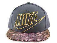 Nike True Icons Swoosh Women's Gray/Orange... http://www.ebay.com/itm/Nike-True-Icons-Swoosh-Womens-Gray-Orange-Strips-Snapback-Adjustable-Size-Hat-/301337538858