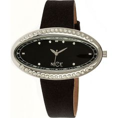 Nice Italy Eye Brill Ladies Watch Black Dial - Nice Italy Watches