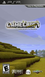 Minecraft - LameCraft PSP iso
