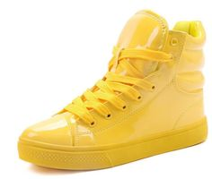 YELLOW FLUORESCENT CANDY PATENT $120.00