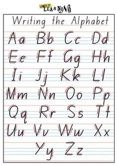 Australian Handwriting Practice Book | School fonts, Handwriting ...