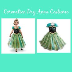 Frozen Costume // Anna // Coronation Day  by TheTotSpotBoca, $40.00