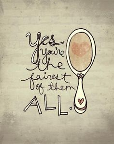 If only we placed the mirror towards our hearts we would see where true beauty really lies.