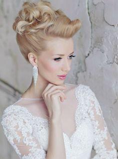 wedding hairstyle idea; via Websalon Wedding