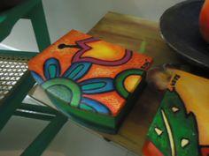 cajas pintadas a mano