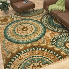Fall in Love with your Floors by adding an area rug from American Rug Craftsmen by Mohawk Home [Promotional Pin]
