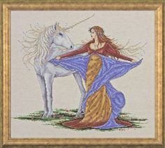 Design Works Counted Cross Stitch kit - Unicorn Design Works http://www.amazon.com/dp/B00AQGFJ4A/ref=cm_sw_r_pi_dp_CB46tb14GKX9S