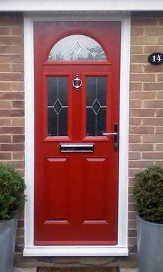 Edwardian Three Panel composite front door