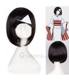 Noragami Shinki Nora Short Black Cosplay Wig$13.99