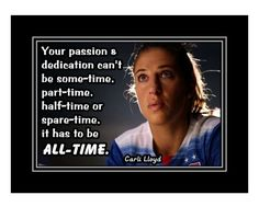 Soccer Motivation, Motivation Wall, Carli Lloyd, Birthday Wall, Motivational Wall Art, Soccer Quotes, Confidence Building, Quote Posters, Order Prints