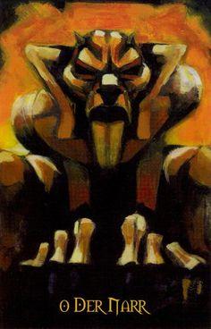 The Fool (Der Narr) - Demeroticon Tarot by Gustafo Ferreira Kikel (Dark Idol)