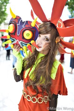 Great shoot!!! The Legend of Zelda - Skull Kid Cosplay by Zerggiee Cosplay Photo by Martin Wong