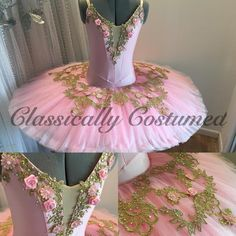 """74 Likes, 2 Comments - Classically Costumed (@classically_costumed) on Instagram: """"Intricate and elegant tutu now available on our designer wardrobe! Link in bio"""""""