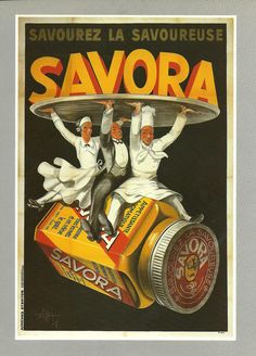 French wall hanging advertising food for SAVORA par FolieduJour