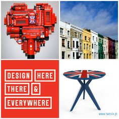 #London #LondonDesignFestival #design #twosixdesign #pinkit #red #cool Today we are in London! We're here for The London Design Festival, 100% Design, Decorex International and Tent London & Super Brands London! For the next three days we will be in the city! We Love London! Stay tuned! :)