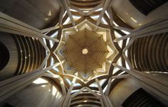 """Model of the """"Osservatore Intransigente"""" of Paolo Portoghesi Wood Structure, Antoni Gaudi, Adventure Is Out There, Art And Architecture, Mind Blown, The Incredibles, Ceiling Lights, Lighting, Thesis"""