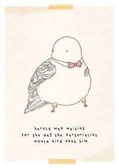 Kate Wilson http://little-doodles.blogspot.com #illustration